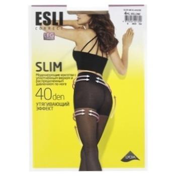 Колготки Esli женские E Slim 40den New р.4 Melone - купить, цены на СитиМаркет - фото 1