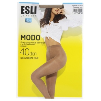 Esli Women's Tights E Modo 40den New s.3 Melone - buy, prices for CityMarket - photo 1