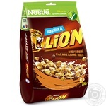 Nestle Lion Caramel and Chocolate Dry Breakfast 250g - buy, prices for Novus - image 1