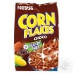 Готовий сухий сніданок NESTLÉ® CHOCO CORN FLAKES з какао без глютену 450г - купити, ціни на Ашан - фото 1