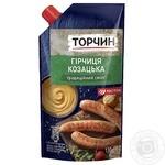 Горчица ТОРЧИН® Казацкая 130г - купить, цены на Novus - фото 1