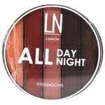 LN Professional Set of eyeshadows All Day All Night 03