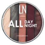 Набір тіней для повік LN Professional All Day All Night 04