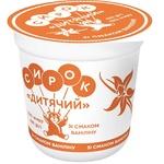 Творожок Слов'яночка Детский со вкусом ванилина 15% 120г - купить, цены на Метро - фото 2