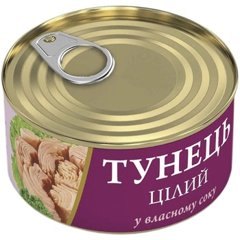 Fish Line Tuna in own juice 95g - buy, prices for Novus - image 1