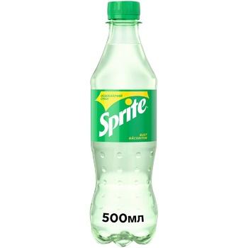 Напій Sprite безалкогольний сильногазований 500мл - купити, ціни на Ашан - фото 1