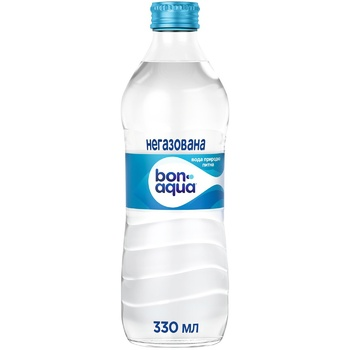 Вода мінеральна Bonaqua негазована 330мл - купити, ціни на МегаМаркет - фото 1