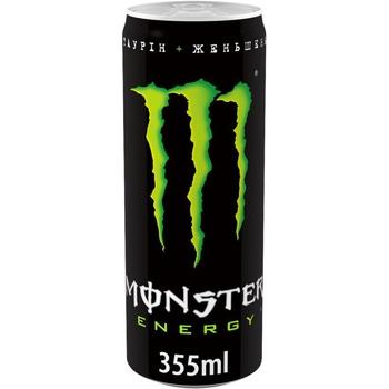 Напиток Monster Energy безалкогольный сильногазированный энергетический 355мл - купить, цены на МегаМаркет - фото 1