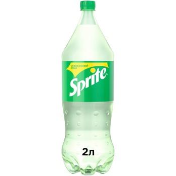 Напиток Sprite безалкогольный сильногазированный 2л - купить, цены на Метро - фото 1
