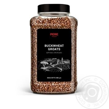 Pere Grains Buckwheat Groats 800g - buy, prices for MegaMarket - image 1