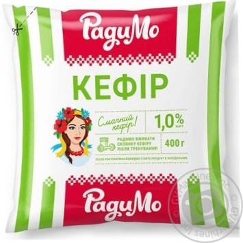 Кефир РадиМо 1% 400г