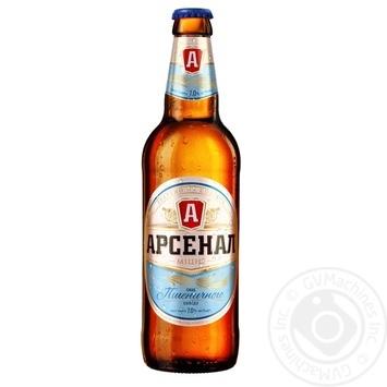 Пиво Арсенал Крепкое Вкус Пшеничного Солода светлое 7% 0,5л