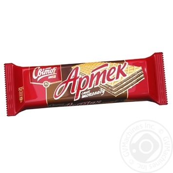 Вафли Свиточ Артек со вкусом шоколада 80г - купить, цены на Novus - фото 1