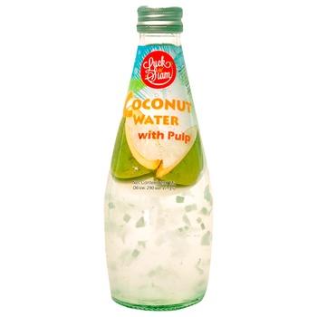 Кокосовая вода Luck Siam с кусочками мякоти 290мл