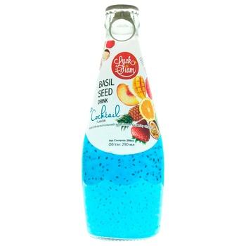 Напиток негазированный Luck Siam Коктейль с семенами базилика 0,29л