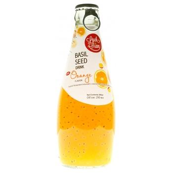 Напиток безалкогольный Luck Siam с семенами базилика Апельсин 290мл