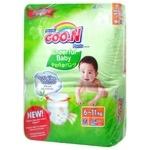 Goo.N Cheerful Baby Panties-diapers M 6-11kg 54pcs