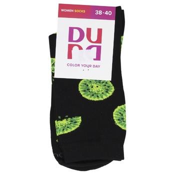 Шкарпетки Duna жіночі 3137 р.23-25 чорний - купити, ціни на CітіМаркет - фото 1