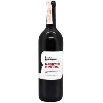 Вино Laura Romagnelli Санжовезе красное сухое 13% 0,75л