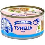 Aquamarine Tuna fillet in own juice 185g