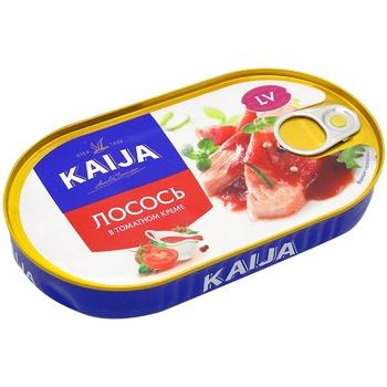 Лосось філе Кайджа в томатному кремі 170г - купити, ціни на Ашан - фото 1