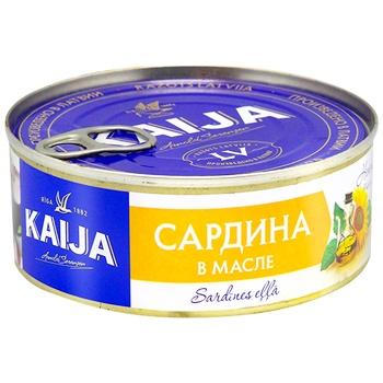 Kaija in oil fish sardines 240g