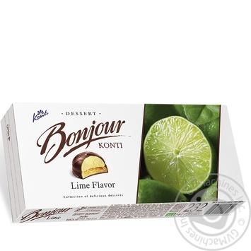 Десерт Konti Bonjour Лайм 232г - купить, цены на Пчёлка - фото 4