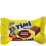 Цукерки Конті Тімі банан ваг.