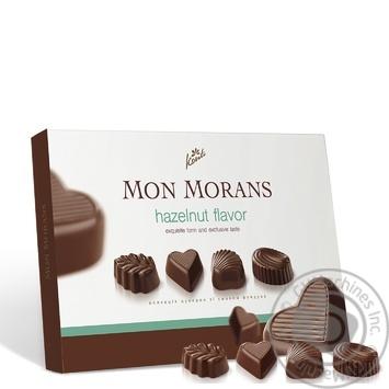 Конфеты Конти Mon Morans со вкусом фундука 167г