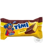 Konti Timi Biscuit Cake with Banana Flavor 50g
