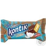Conti Super Kontik biscuit cake with coconut flavor 50g