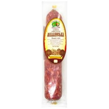 Ukrprompostach Milanska Premium Dry-cured Sausage 405g