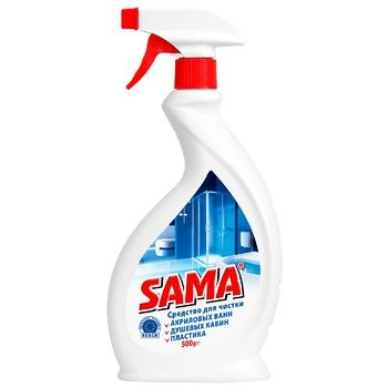 Засіб SAMA для чищення акрилових ванн 500мл - купити, ціни на Ашан - фото 1