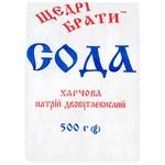 Сода Щедрі Брати пищевая 500г