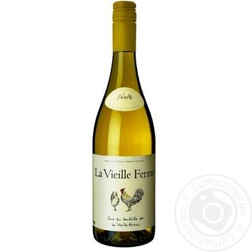 Вино Perrin et Fils La Vieille Ferme белое сухое 13% 0,375л - купить, цены на СитиМаркет - фото 1