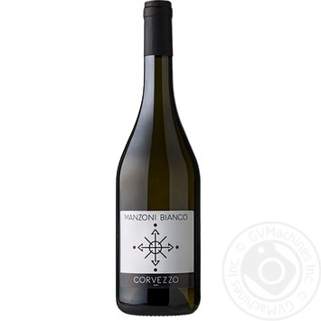 Corvezzo Manzoni bianco Wine 13% 0,75l