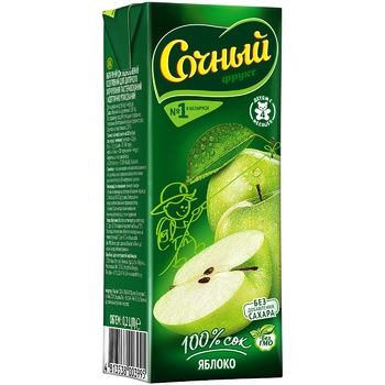 Sochnyy Frukt Apple Juice 200ml - buy, prices for CityMarket - photo 1