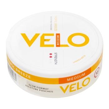 Никотиносодержащие порции VELO Tropic Breeze Medium