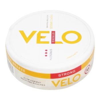 Никотиносодержащие порции VELO Tropic Breeze Strong