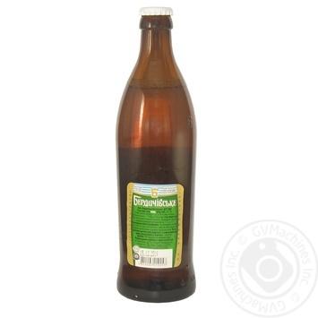 Пиво Бердичівське Жигулівське живе світле непастеризоване 3.7%об. 500мл - купити, ціни на Novus - фото 2