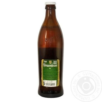 Пиво Бердичевское Хмельное светлое 3,7% 0,5л - купить, цены на Ашан - фото 2