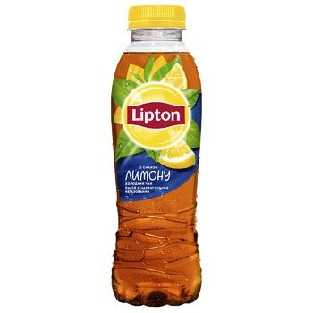 Напиток Lipton Чай холодный черный со вкусом лимона 0,5л