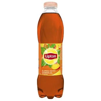 Холодний чорний чай Lipton зі смаком персику 1л - купити, ціни на CітіМаркет - фото 1
