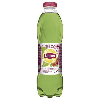 Lipton Green Ice Tea Strawberries and cranberries 1l - buy, prices for CityMarket - photo 1