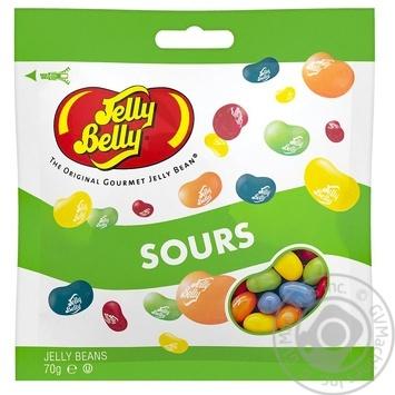 Конфеты Jelly Belly Пять вкусов с кислинкой 70г - купить, цены на МегаМаркет - фото 1