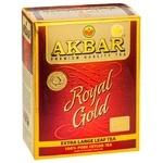 Чорний чай Акбар Роял Голд цейлонський особливо крупнолистовий 80г