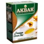 Akbar Large Leaf Green Tea 100g