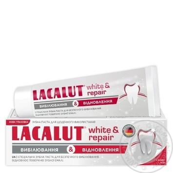 Зубная паста Лакалут Вайт&восстановление 75мл - купить, цены на Novus - фото 1