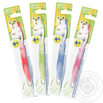 Lacalut Child toothbrush 4+ - buy, prices for Novus - image 1