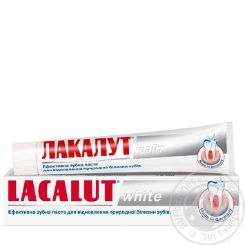 Lacalut White Toothpaste - buy, prices for Auchan - image 1